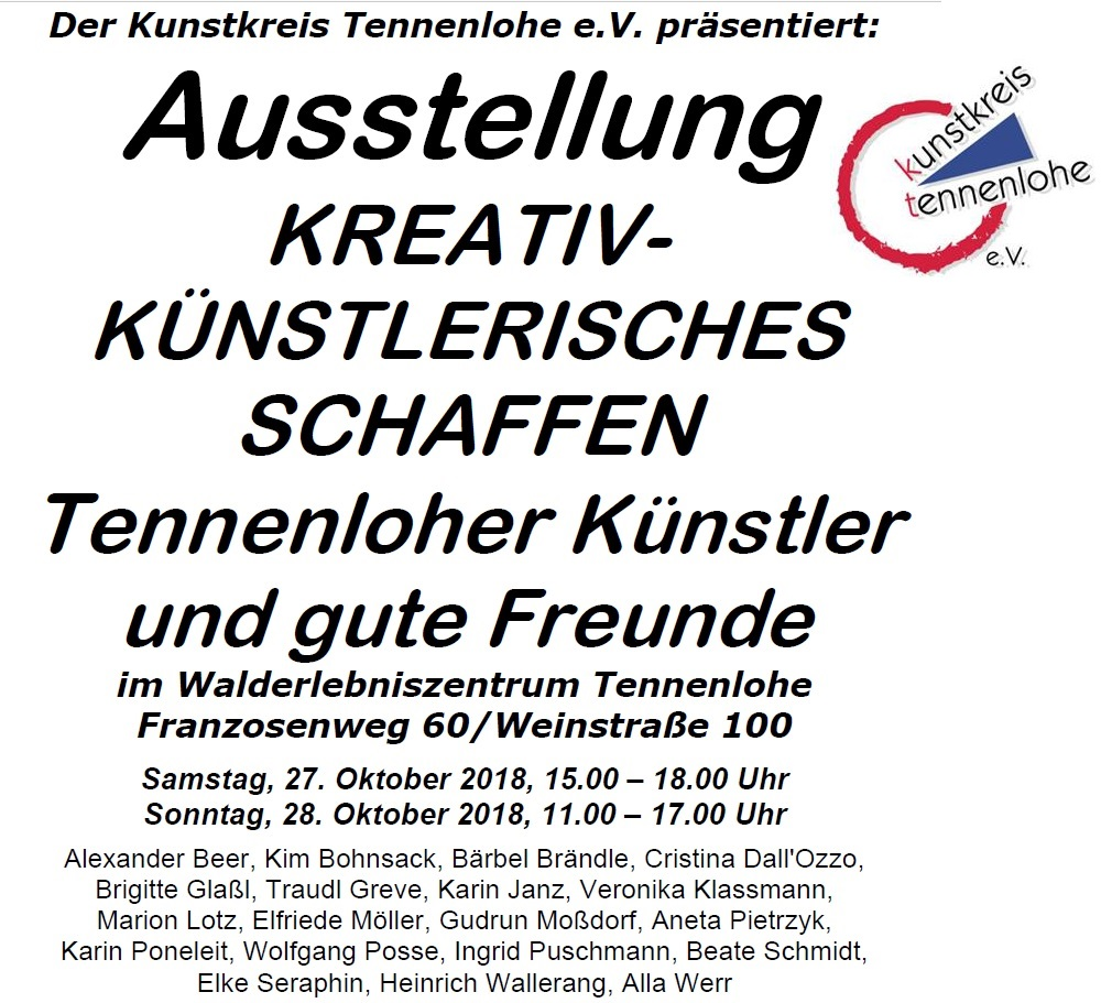 Konzert zur Ausstellung KREATIV-KÜNSTLERISCHES SCHAFFEN